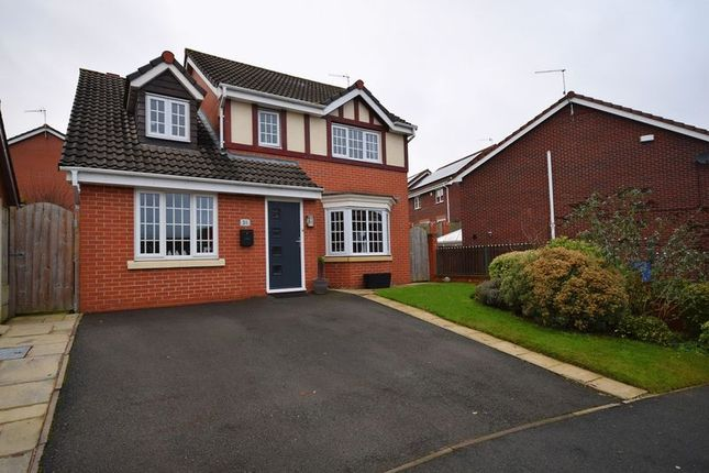 4 bed detached house for sale in Sapphire Drive, Milton, Stoke-On-Trent