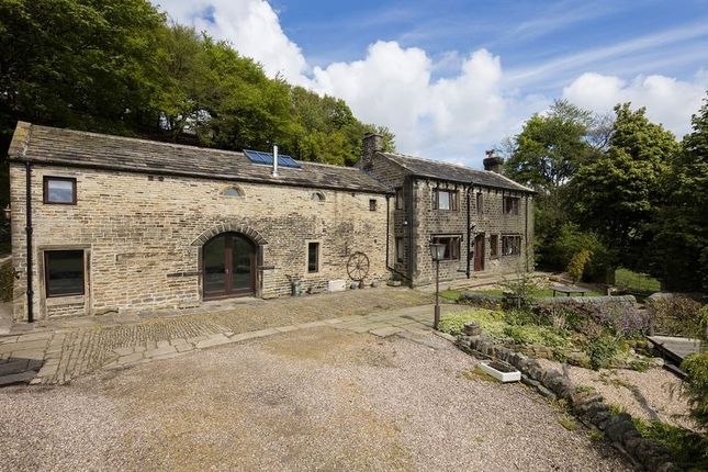 Thumbnail Farmhouse for sale in Heath Farm, Slaithwaite, Huddersfield