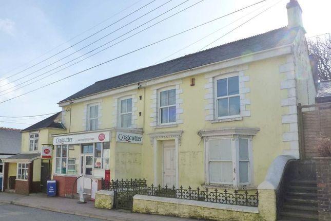 Thumbnail Retail premises for sale in Bradworthy, Devon