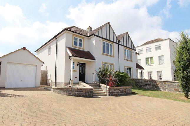 Thumbnail Semi-detached house for sale in Bath Road, Keynsham, Bristol