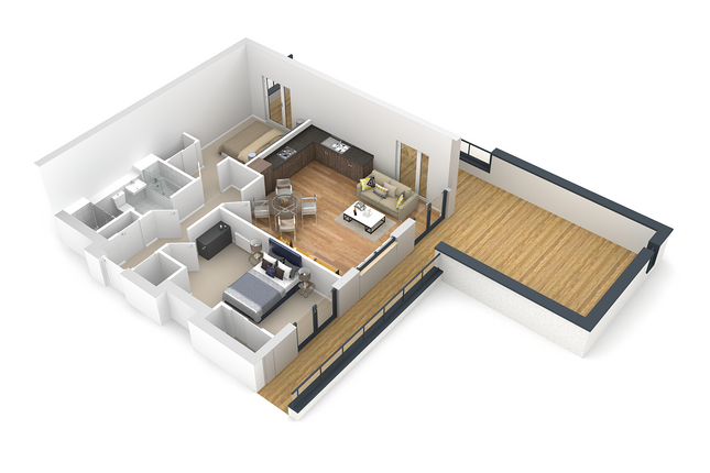 Thumbnail Flat for sale in Silverbirch Wynd, Port Glasgow