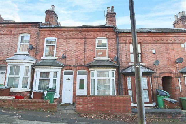 Thumbnail Terraced house for sale in Gawthorne Street, New Basford, Nottingham
