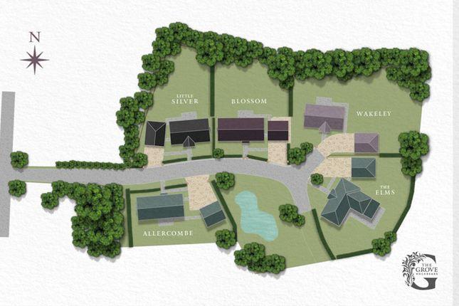 Site Plan of Rockbeare, Exeter EX5