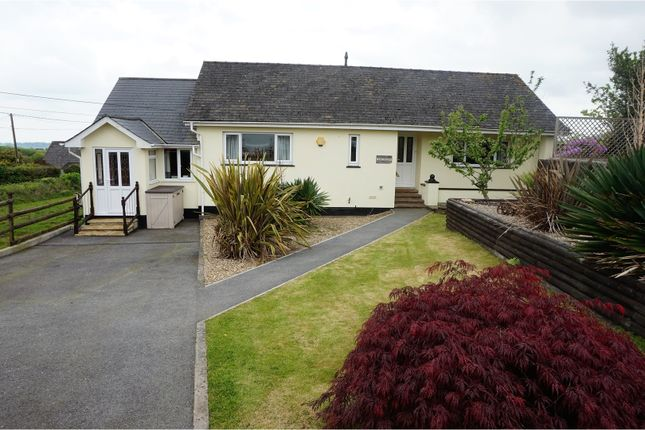 Thumbnail Detached bungalow for sale in Fore Street, Pensilva