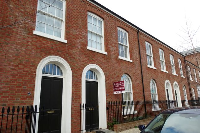2 bed terraced house to rent in Liscombe Street, Poundbury, Dorchester DT1