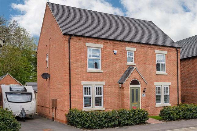 Thumbnail Detached house for sale in Adderley Avenue, Nuneaton