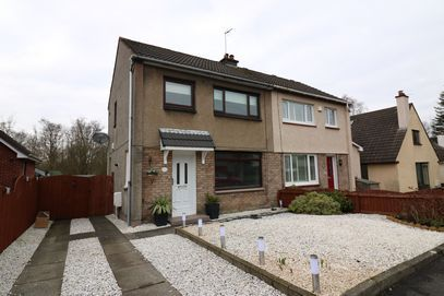 Thumbnail Semi-detached house to rent in Larkfield Road, Lenzie