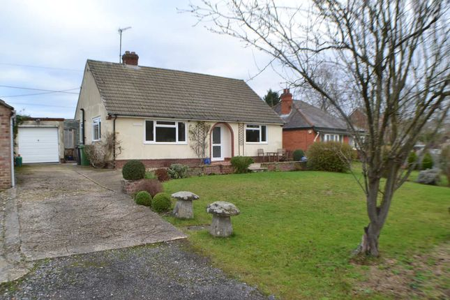 Thumbnail Detached bungalow to rent in Orchard Close, Hermitage, Thatcham
