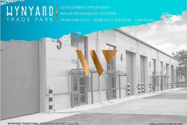 Thumbnail Light industrial to let in Wynyard Trade Park, Wynyard, Stockton-On-Tees