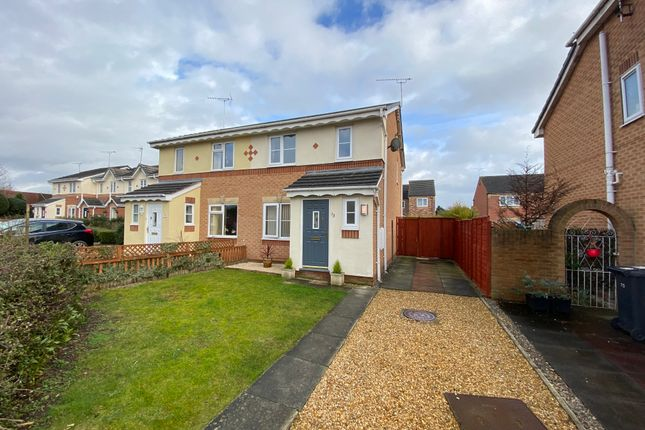 Thumbnail Semi-detached house to rent in Hughes Drive, Crewe, Cheshire
