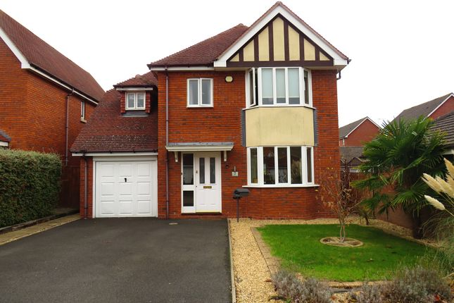 Thumbnail Detached house for sale in Newbury Drive, Stratford-Upon-Avon