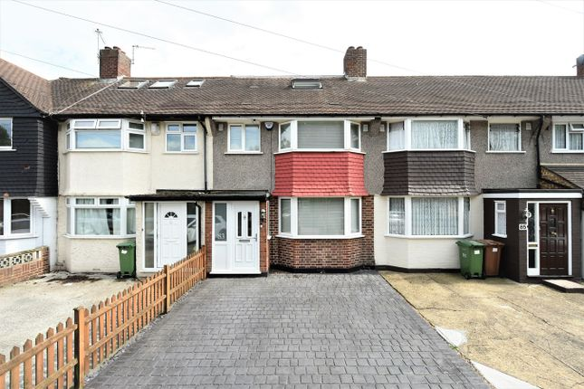Thumbnail 4 bed terraced house for sale in Berwick Crescent, Sidcup