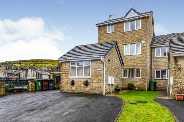 Thumbnail End terrace house for sale in Croft Row, Audley Street, Mossley
