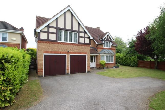 Thumbnail Detached house to rent in Tattershall Close, Grantham
