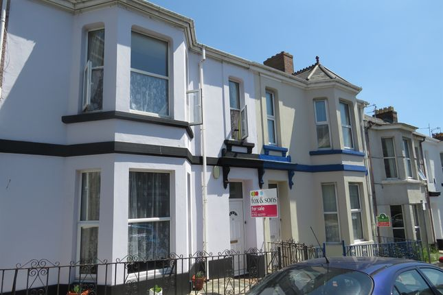 Thumbnail Terraced house for sale in Mildmay Street, Plymouth