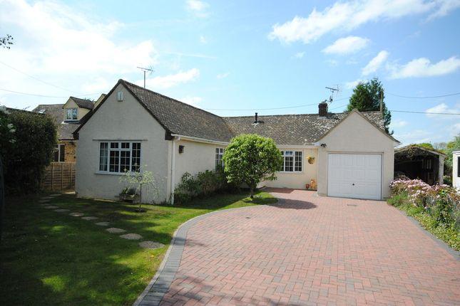 Thumbnail Detached bungalow for sale in Wroslyn Road, Freeland, Witney