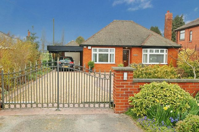 Thumbnail Bungalow for sale in Newcastle Road, Chorlton, Crewe