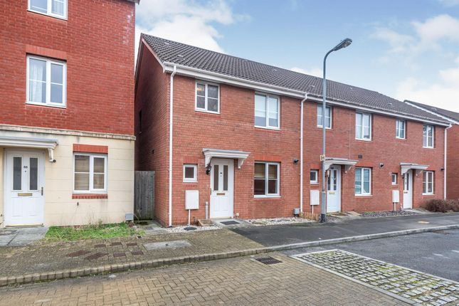 Thumbnail End terrace house to rent in Watkins Square, Llanishen, Cardiff