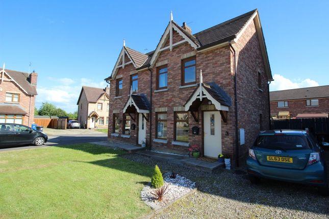 Thumbnail Semi-detached house for sale in Stonebridge Green, Conlig, Newtownards