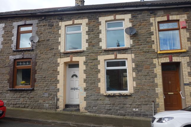Thumbnail Terraced house to rent in Tallis Street, Cwmparc