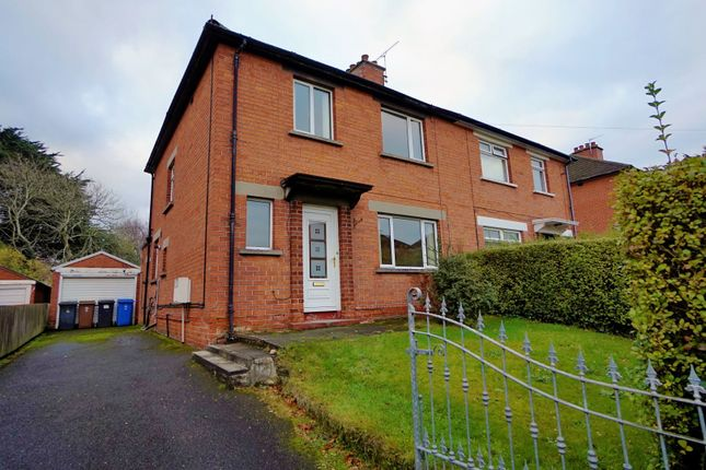 Thumbnail Semi-detached house to rent in Norwood Drive, Belfast