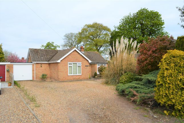 Thumbnail Detached bungalow for sale in Old Rectory Close, North Wootton, King's Lynn