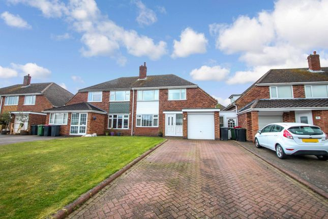 Thumbnail Semi-detached house for sale in Pooley View, Polesworth, Tamworth