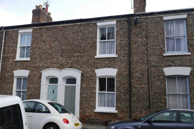 Thumbnail Terraced house for sale in Kyme Street, Bishophill, York