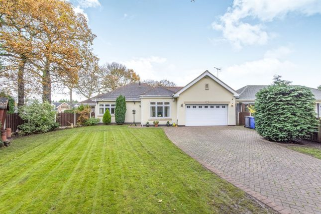 Thumbnail Detached bungalow for sale in Birchwood Court, Bessacarr, Doncaster