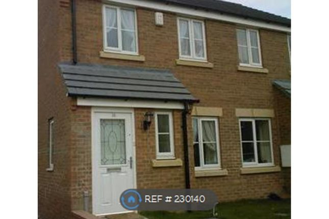 Thumbnail Semi-detached house to rent in Aketon Croft, Castleford