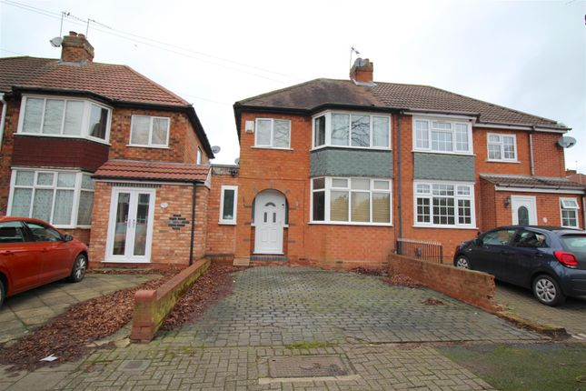 Thumbnail Semi-detached house for sale in Bryn Arden Road, South Yardley, Birmingham