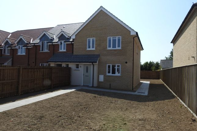 Thumbnail Semi-detached house for sale in Carr Avenue, Leiston, Suffolk