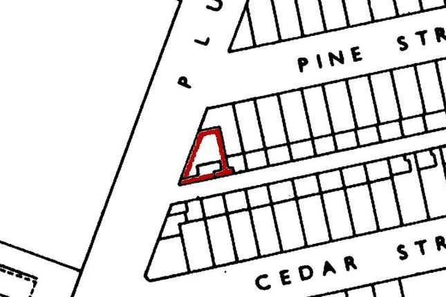 Land for sale in Pine Street, Burnley
