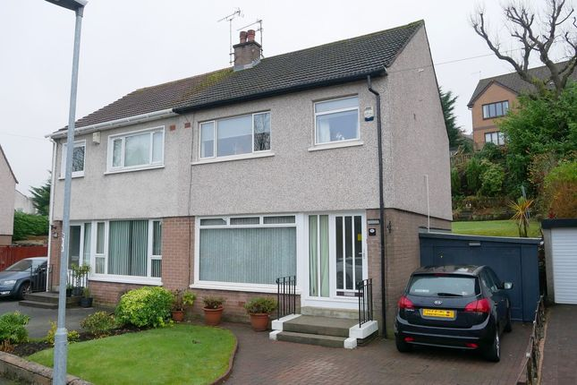 Thumbnail Semi-detached house for sale in Meikleriggs Drive, Paisley