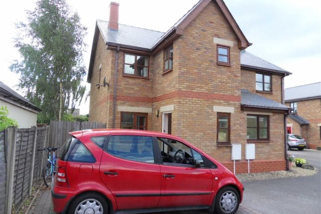 Thumbnail Semi-detached house to rent in Blackbarn Mews, Usk, Monmouthshire