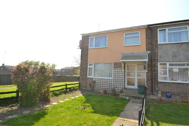 Thumbnail End terrace house to rent in Rosalind Close, Colchester, Essex