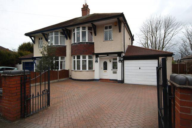 Thumbnail Semi-detached house for sale in Greenacres Avenue, Blythe Bridge, Stoke-On-Trent
