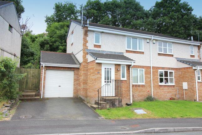Thumbnail Semi-detached house to rent in Pollards Way, Saltash