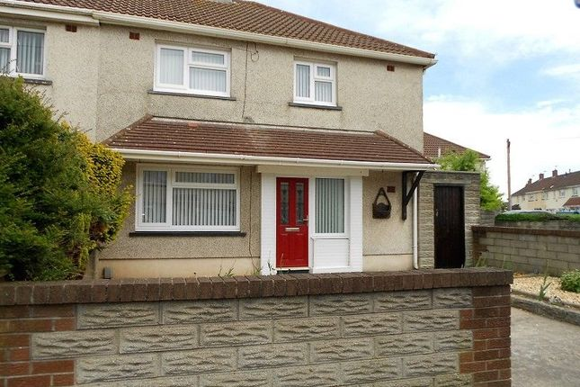 Thumbnail Semi-detached house to rent in Southdown Road, Port Talbot, Neath Port Talbot.