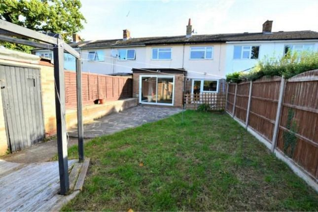 Thumbnail Terraced house to rent in Collins Meadow, Harlow, Essex