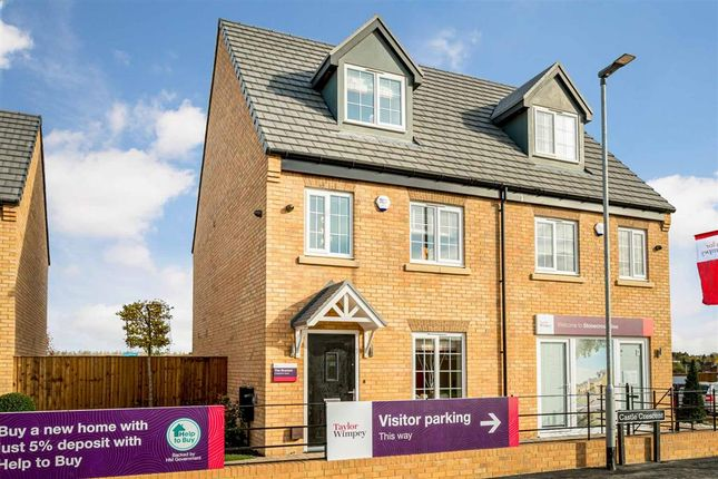 """3 bed semi-detached house for sale in """"The Braxton - Plot 40"""" at Stumpcross Lane, Pontefract WF8"""