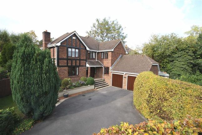 Thumbnail Detached house for sale in Erleigh Drive, Chippenham, Wiltshire