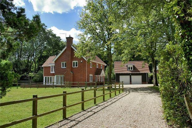 Thumbnail Detached house for sale in Honey Lane, Burley, Ringwood