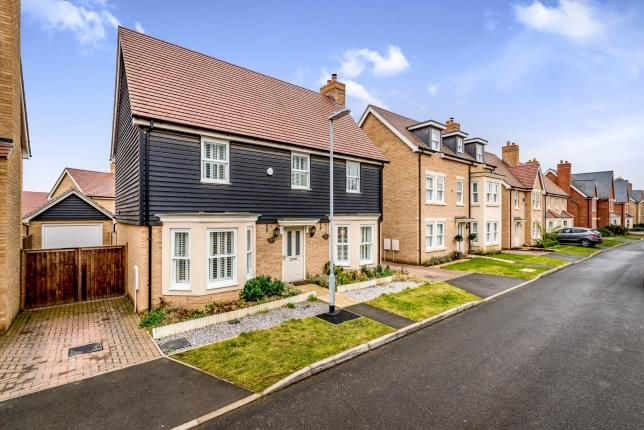 Thumbnail Detached house for sale in Maunder Avenue, Biggleswade, Bedfordshire