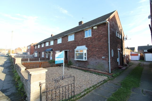 Thumbnail End terrace house to rent in Milton Road, Scunthorpe