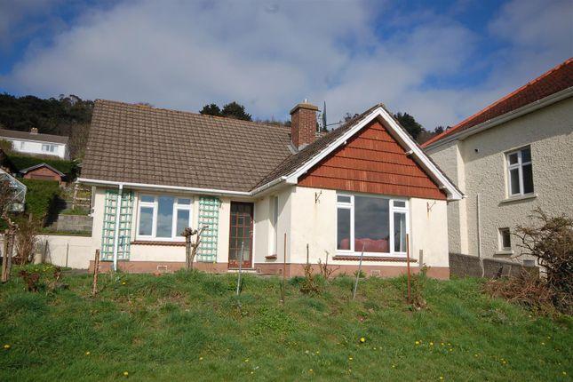 Thumbnail Detached bungalow for sale in Padarn Crescent, Llanbadarn Fawr, Aberystwyth