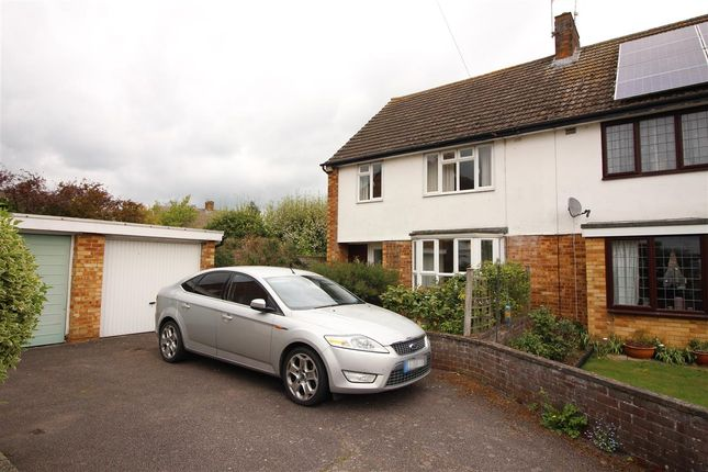 Thumbnail Semi-detached house for sale in Braeside, Bedford