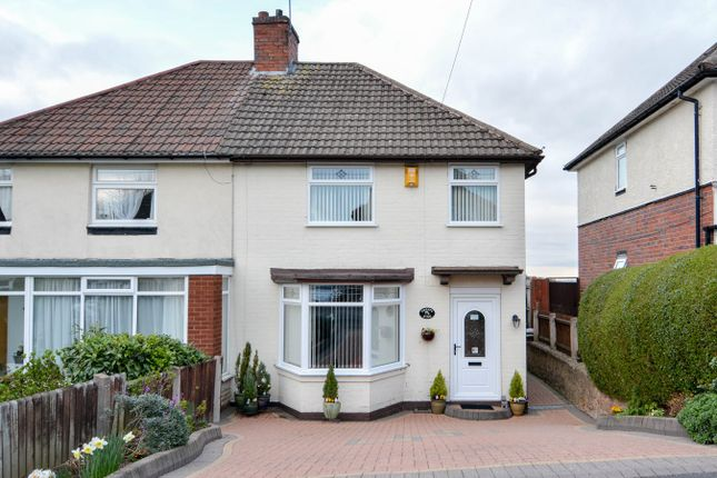 Thumbnail Semi-detached house for sale in Hamilton Road, Bearwood