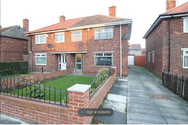 Thumbnail Semi-detached house to rent in Overdale Road, Middlesbrough