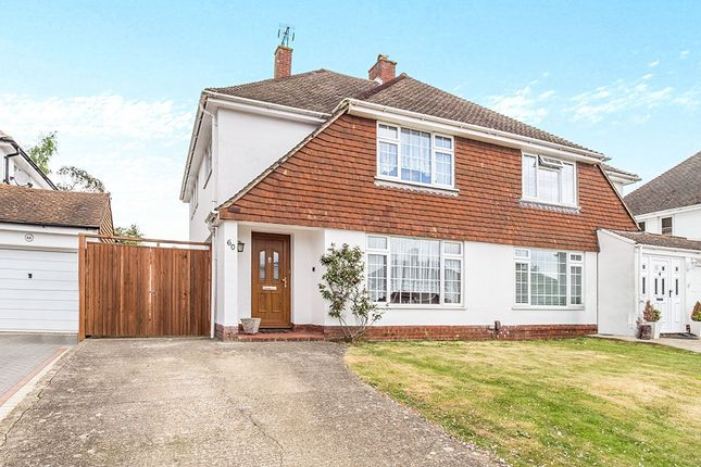 Thumbnail Semi-detached house to rent in Beverley Road, Barming, Maidstone